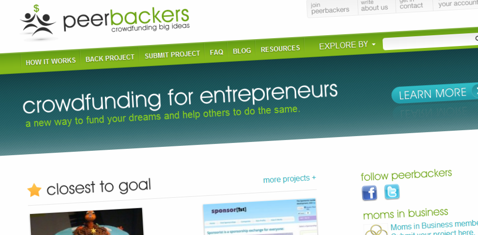 Crowdfunding Websites